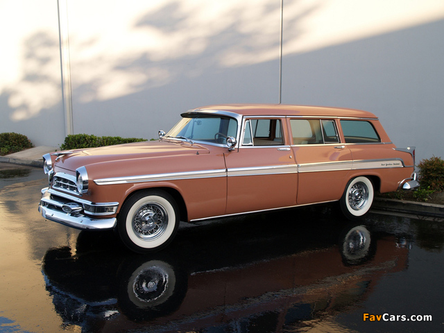 Chrysler New Yorker Station Wagon 1955 wallpapers (640 x 480)