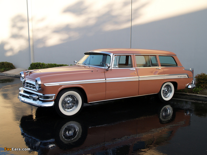 Chrysler New Yorker Station Wagon 1955 wallpapers (800 x 600)