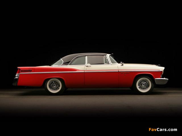 Chrysler New Yorker 2-door Hardtop 1956 images (640 x 480)