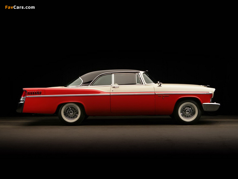 Chrysler New Yorker 2-door Hardtop 1956 images (800 x 600)