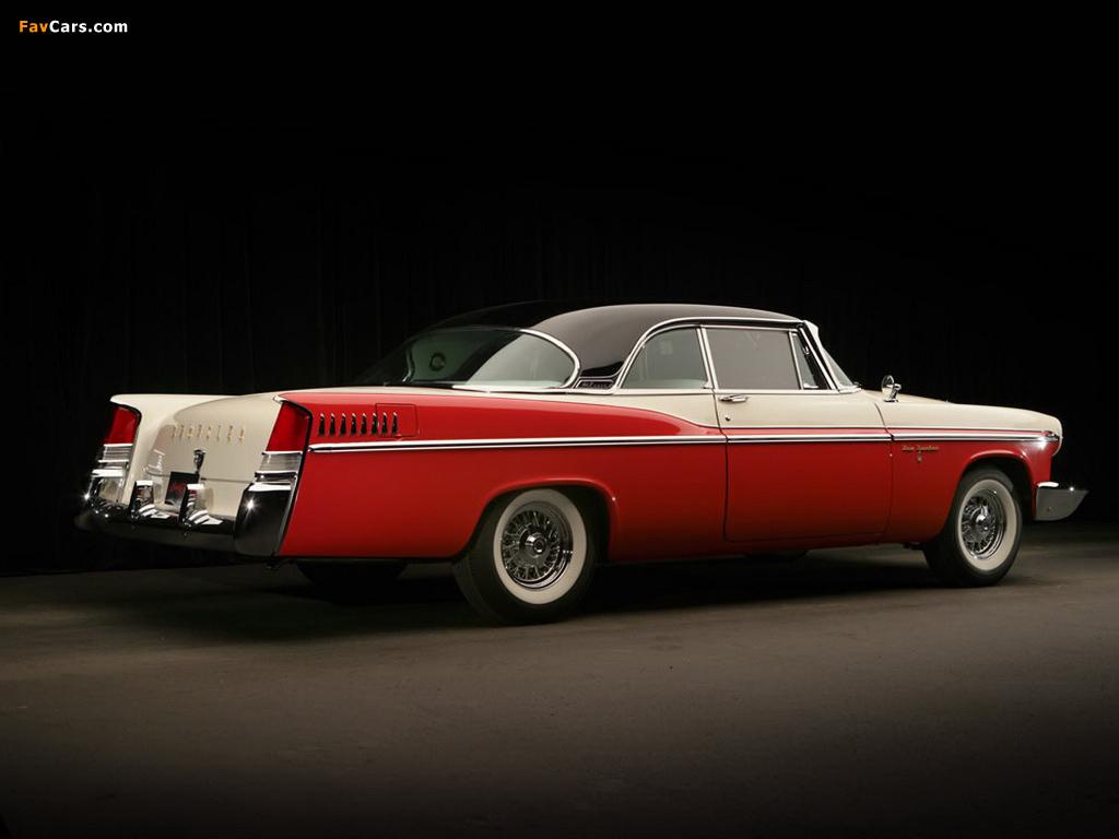 Chrysler New Yorker 2-door Hardtop 1956 photos (1024 x 768)