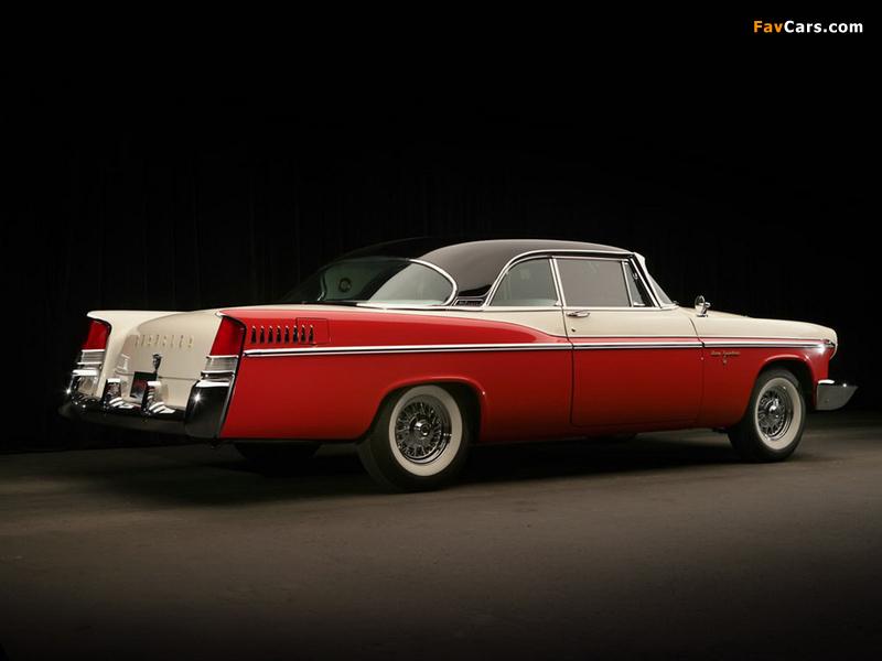 Chrysler New Yorker 2-door Hardtop 1956 photos (800 x 600)
