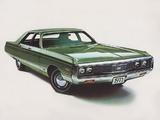 Chrysler New Yorker 4-door Sedan 1971 wallpapers