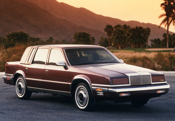 Chrysler New Yorker 1988 91 Pictures