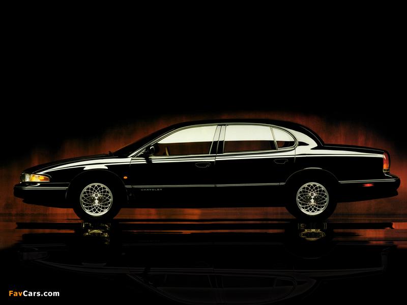 Chrysler New Yorker 1994–96 wallpapers (800 x 600)