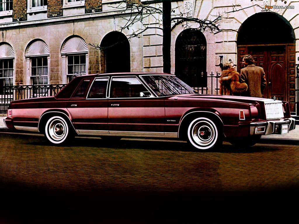 Images of Chrysler New Yorker 1980 (1024 x 768)