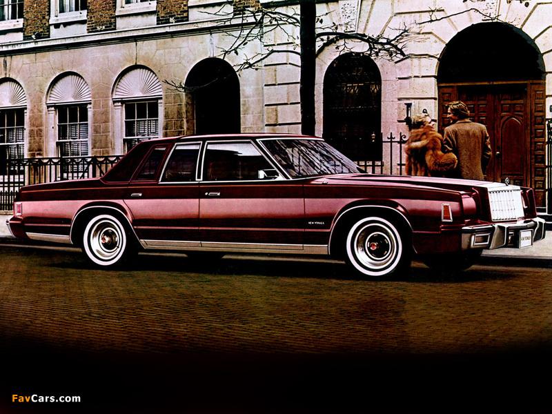 Images of Chrysler New Yorker 1980 (800 x 600)