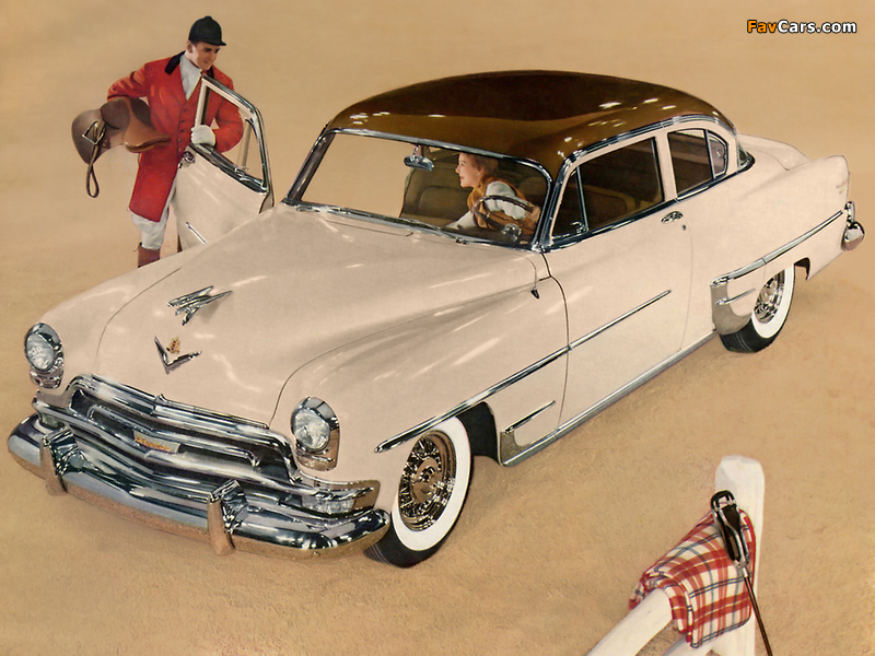 Photos of Chrysler New Yorker DeLuxe Club Coupe 1954 (800 x 600)