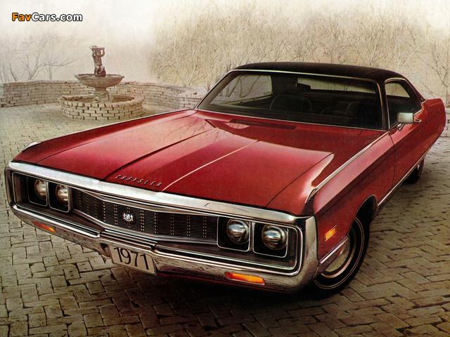 Chrysler New Yorker 2-door Hardtop 1971 wallpapers (640 x 480)