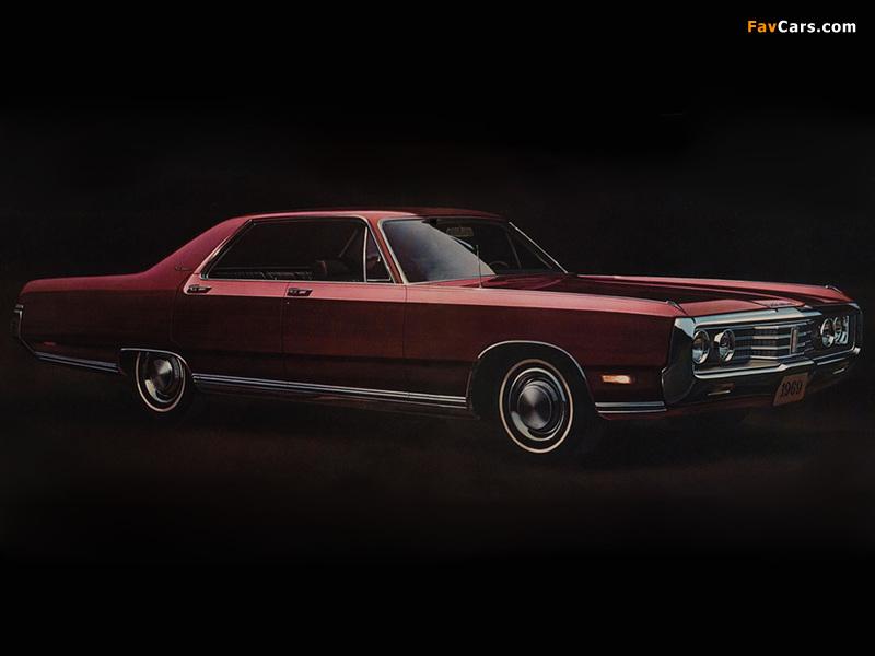 Chrysler New Yorker 4-door Hardtop 1969 wallpapers (800 x 600)