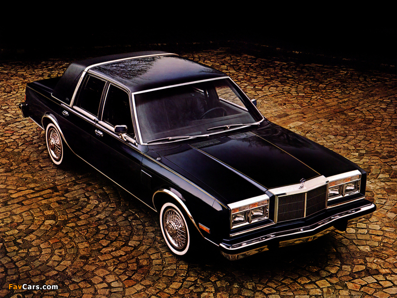 Chrysler New Yorker Fifth Avenue Edition 1982 wallpapers (800 x 600)