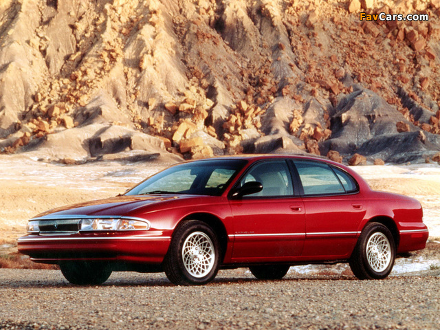 Chrysler New Yorker 1994–96 wallpapers (640 x 480)