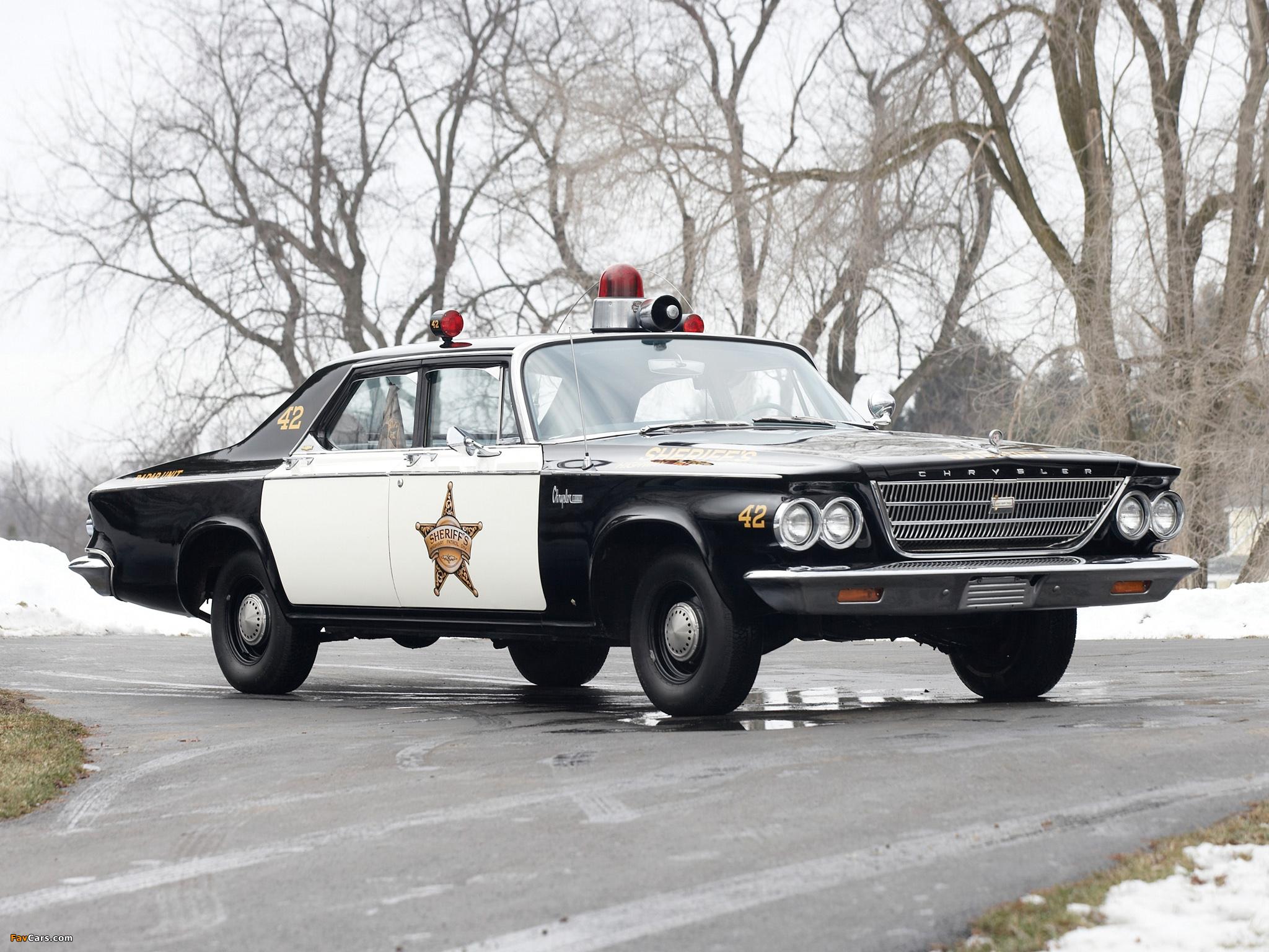 Chrysler Newport Police Cruiser 1963 images (2048 x 1536)