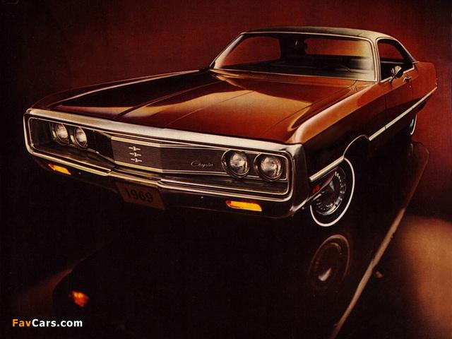 Images of Chrysler Newport Custom 2-door Hardtop 1969 (640 x 480)