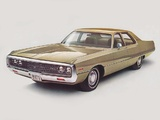 Chrysler Newport Custom 4-door Sedan 1971 wallpapers