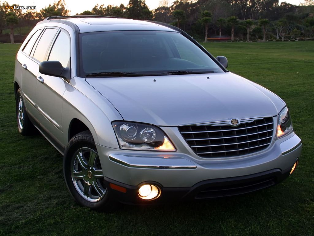 Chrysler Pacifica 2003–06 wallpapers (1024 x 768)