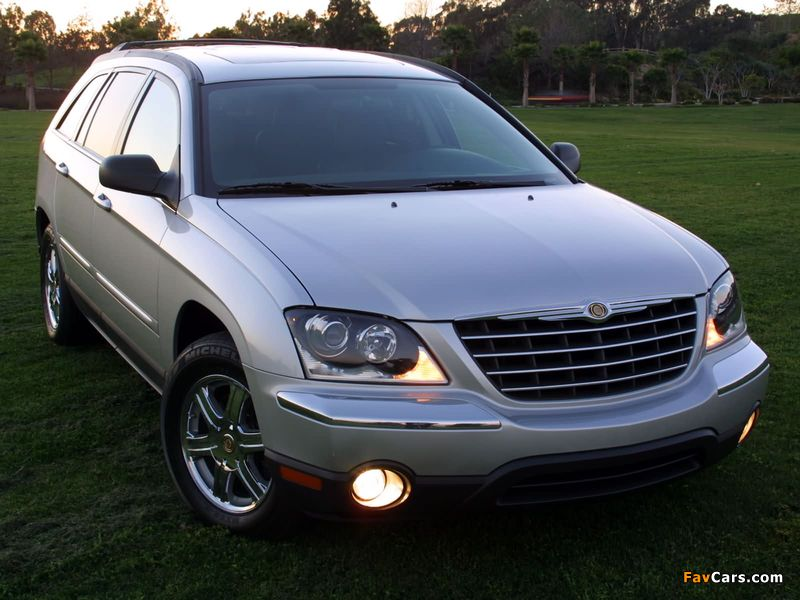 Chrysler Pacifica 2003–06 wallpapers (800 x 600)