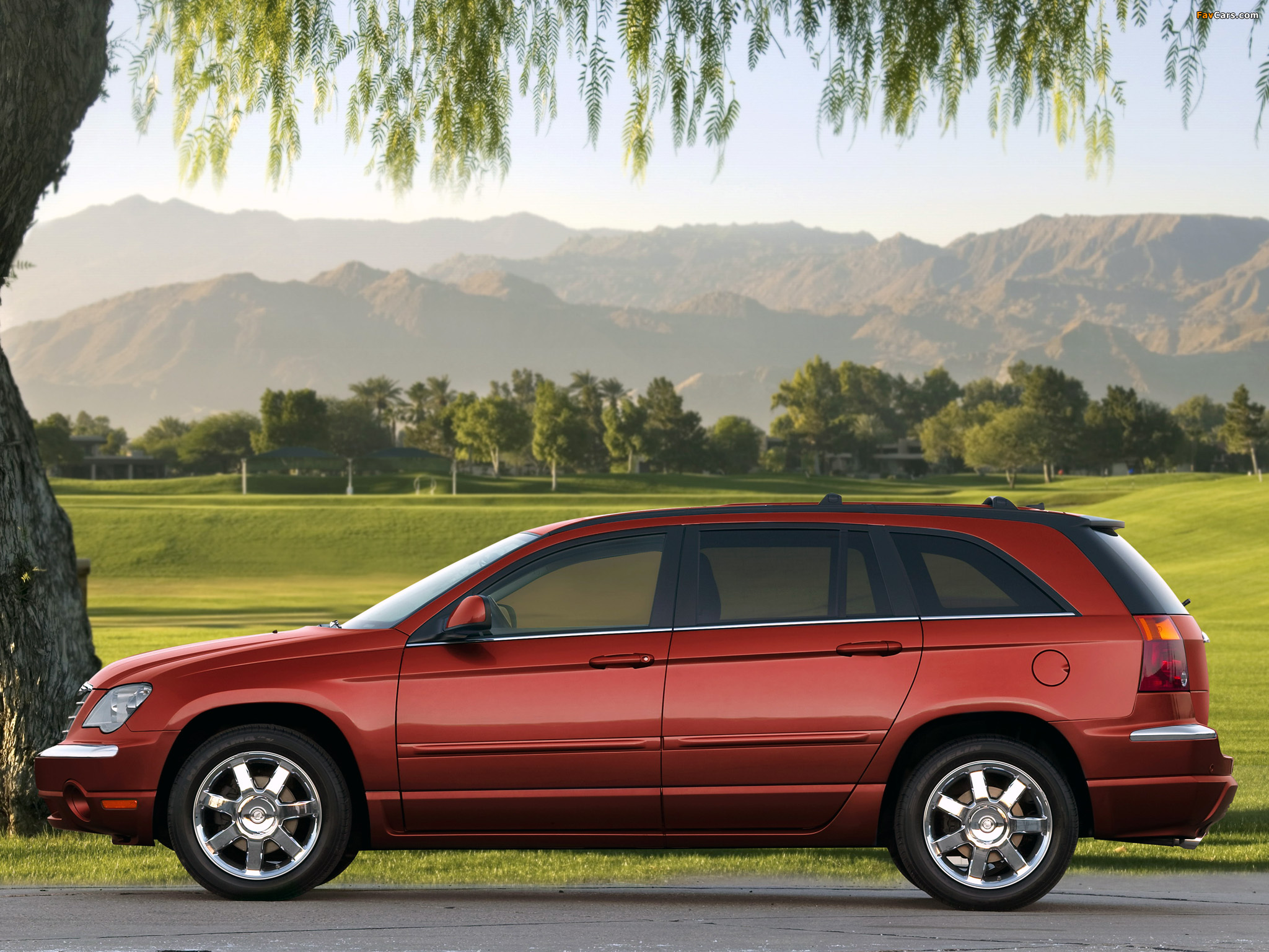 Chrysler Pacifica 2006 07 Images 2048x1536