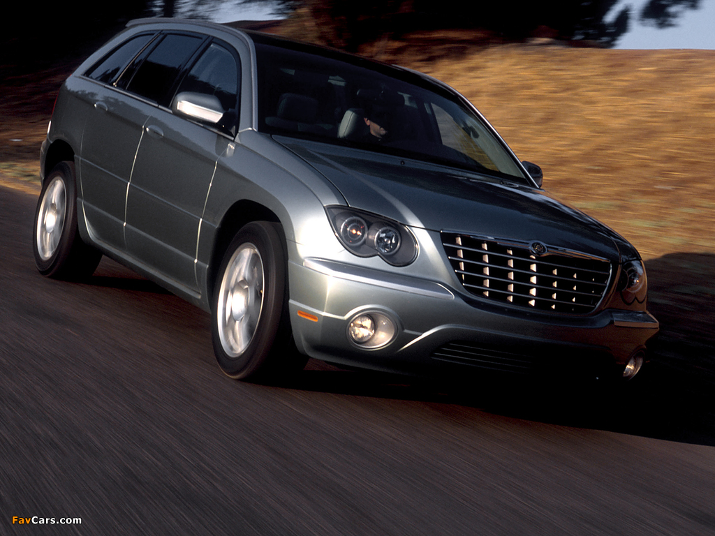 Images of Chrysler Pacifica Concept (CS) 2002 (1024 x 768)