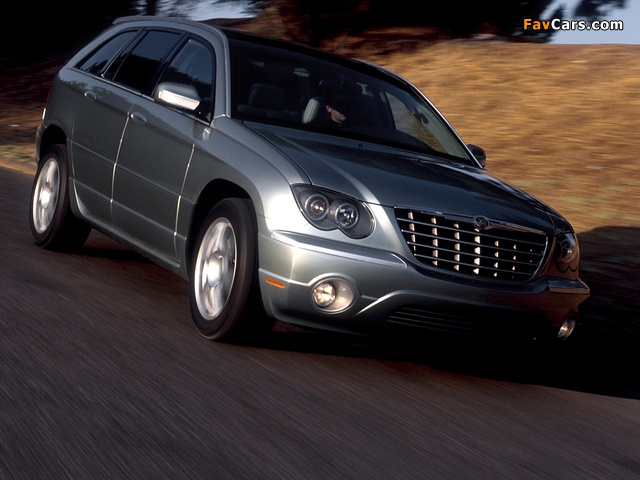 Images of Chrysler Pacifica Concept (CS) 2002 (640 x 480)