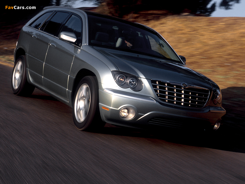 Images of Chrysler Pacifica Concept (CS) 2002 (800 x 600)