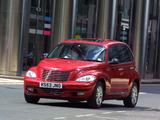 Chrysler PT Cruiser UK-spec 2001–06 photos