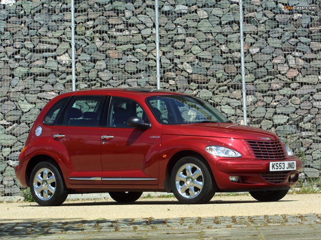 Chrysler PT Cruiser UK-spec 2001–06 photos (1024 x 768)