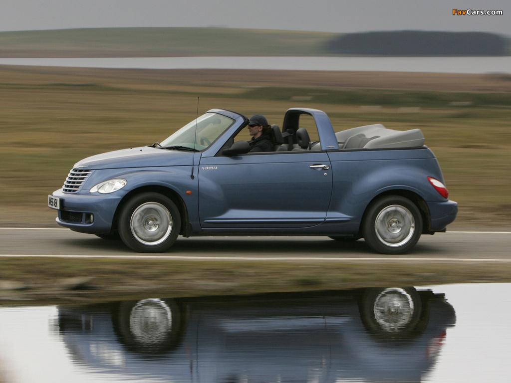 Chrysler PT Cruiser Convertible UK-spec 2006–07 images (1024 x 768)