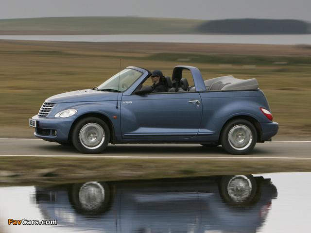 Chrysler PT Cruiser Convertible UK-spec 2006–07 images (640 x 480)