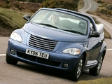 Chrysler PT Cruiser Convertible UK-spec 2006–07 photos
