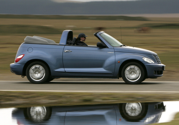 chrysler pt cruiser convertible uk spec 2006 07 images. Black Bedroom Furniture Sets. Home Design Ideas