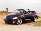 Photos of Chrysler PT Cruiser Convertible Concept 2002