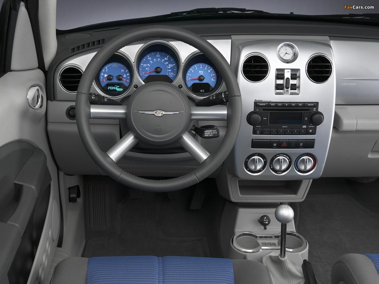 Photos of Chrysler PT Cruiser Convertible 2006–07 (1280 x 960)