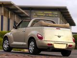 Photos of Chrysler PT Cruiser Convertible UK-spec 2006–07