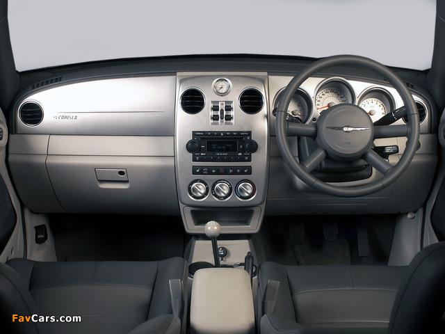 Photos of Chrysler PT Cruiser Convertible UK-spec 2006–07 (640 x 480)