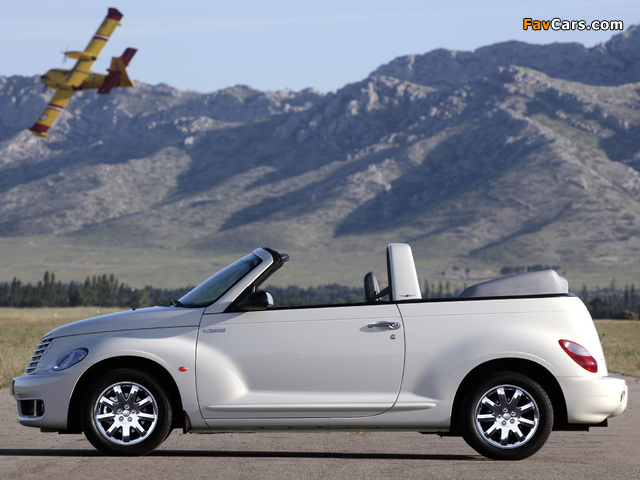 Pictures of Chrysler PT Cruiser Convertible 2006–07 (640 x 480)