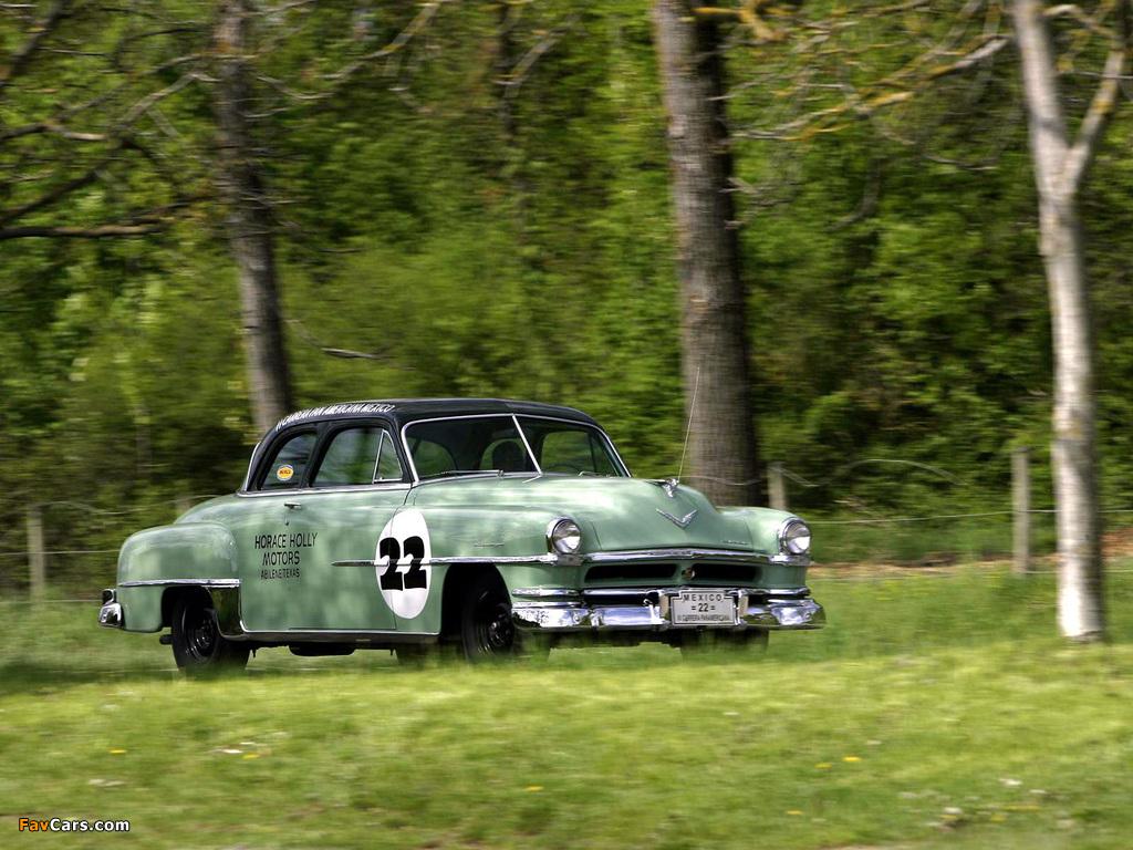 Chrysler Saratoga Club Coupe 1951 wallpapers (1024 x 768)