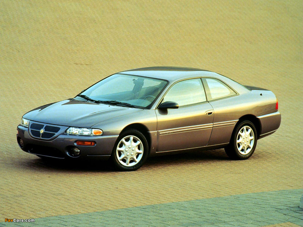 Chrysler Sebring Coupe 1995–97 wallpapers (1024 x 768)