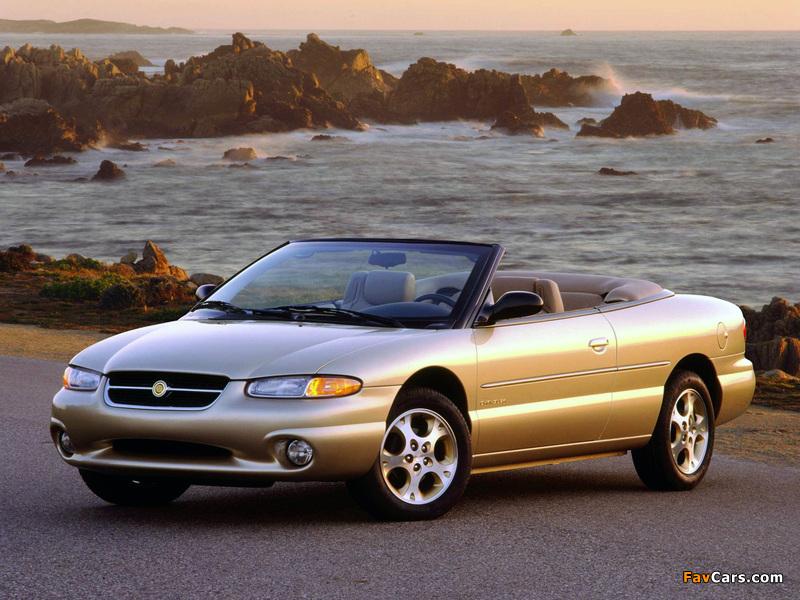 Chrysler Sebring Convertible 1996–2001 images (800 x 600)