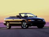 Chrysler Sebring Convertible (JX) 1998–2000 wallpapers