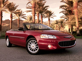 Chrysler Sebring Convertible 2001–04 photos