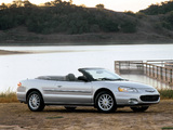 Chrysler Sebring Convertible 2001–04 pictures