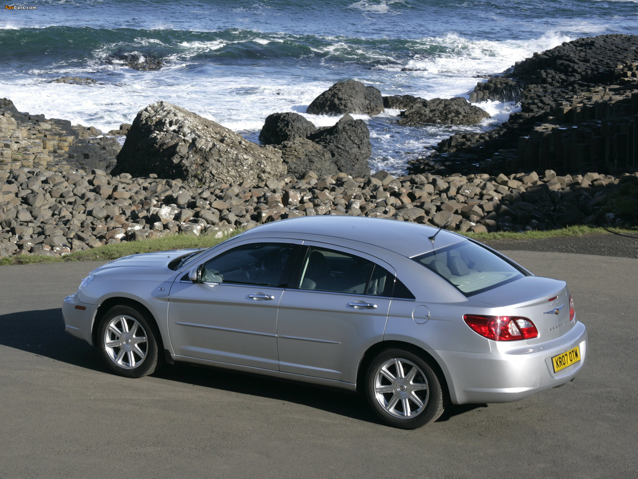 Chrysler Sebring Sedan UK-spec 2006–10 images (2048 x 1536)