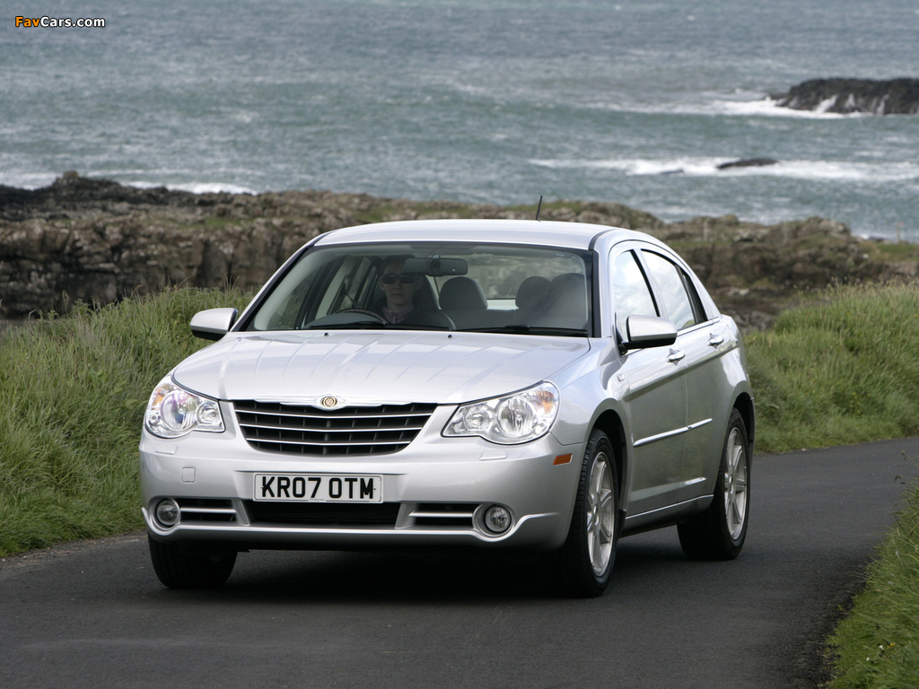 Chrysler Sebring Sedan UK-spec 2006–10 photos (1024 x 768)