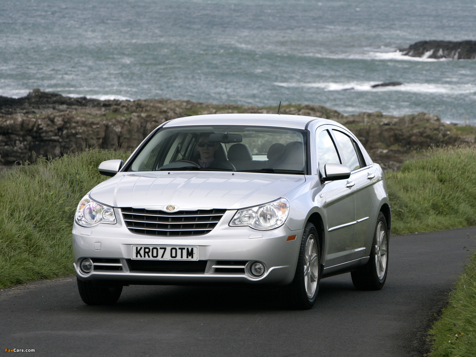 Chrysler Sebring Sedan UK-spec 2006–10 photos (1600 x 1200)