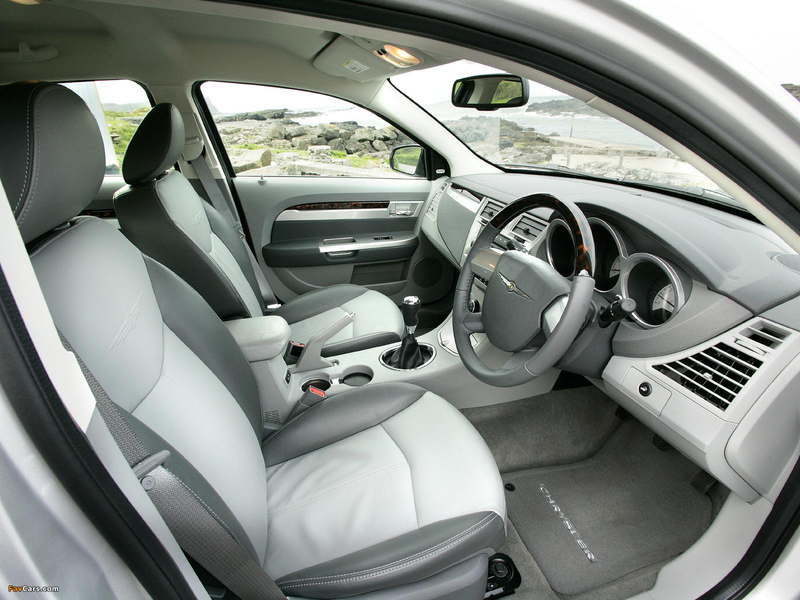 Chrysler Sebring Sedan UK-spec 2006–10 pictures (1600 x 1200)
