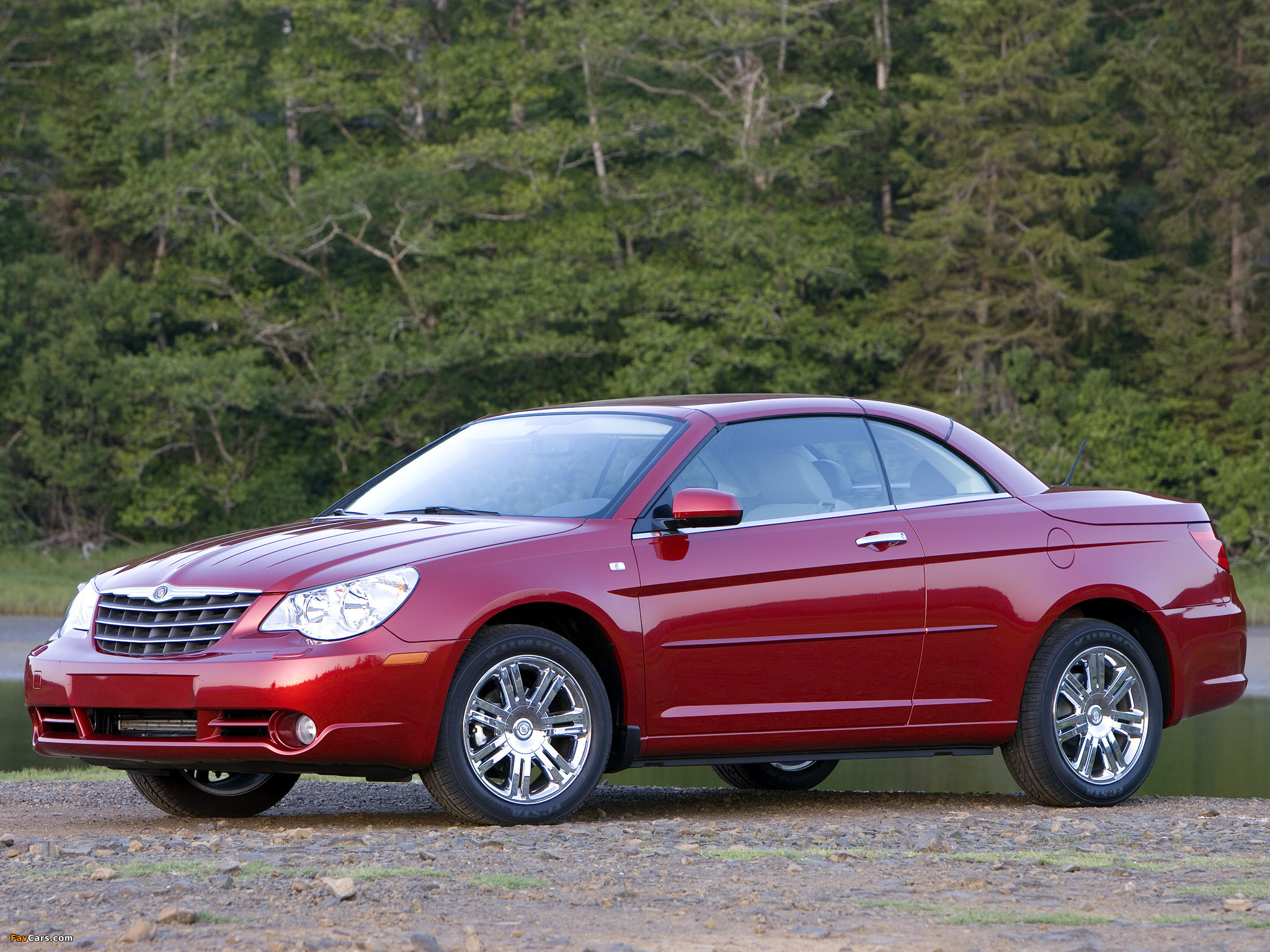 Chrysler Sebring Convertible 2007–11 images (2048 x 1536)