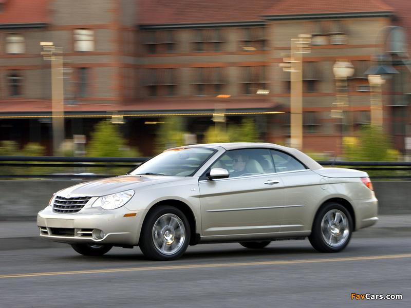 Chrysler Sebring Convertible 2007–11 wallpapers (800 x 600)