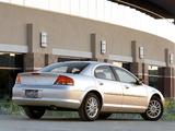 Photos of Chrysler Sebring Sedan 2001–04