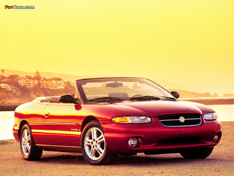 Pictures of Chrysler Sebring Convertible 1996–2001 (800 x 600)